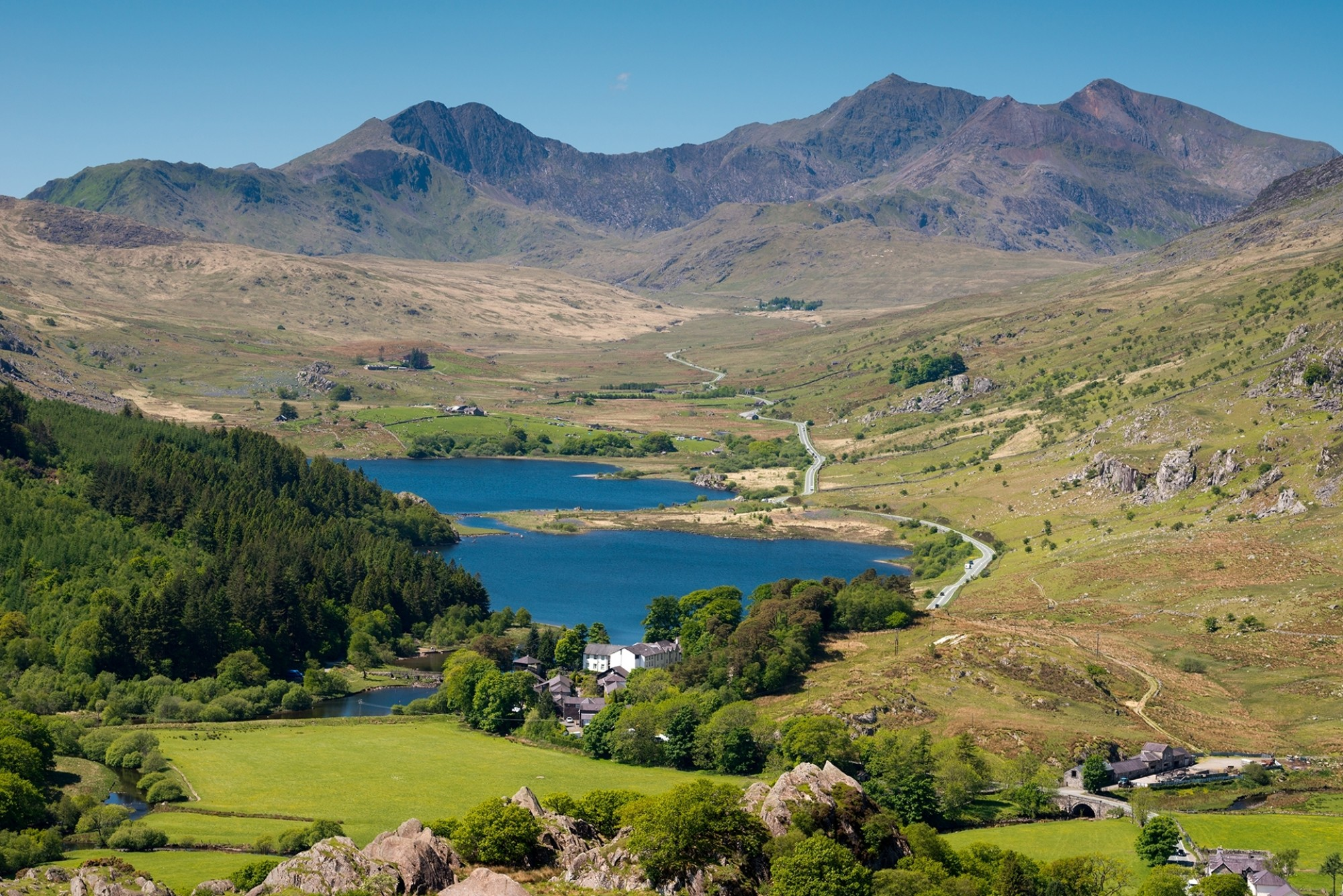 Snowdonia-National-Park-and-mount-Snowdon-Wales