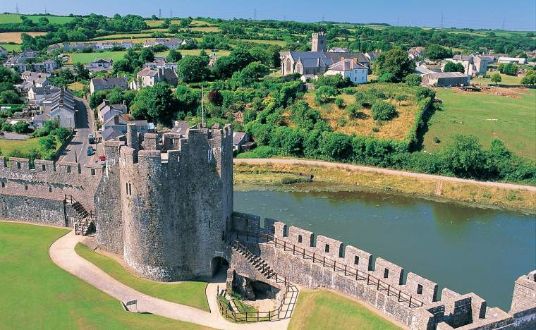 Pembroke Castle Crown copyright 2013 Visit Wales 1