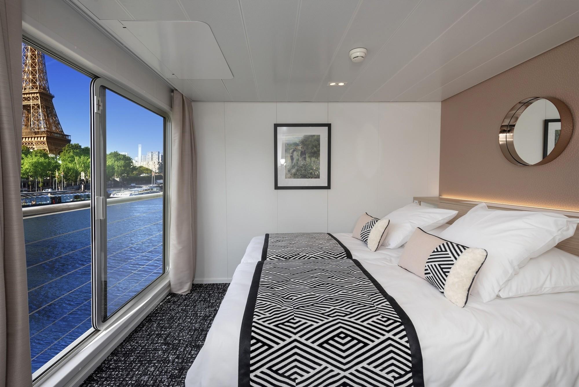 Cabine-deux-lits-separes-pont-superieur-MS-Renoir-Seine-Croisieurope-220048 Gregory-Gerault