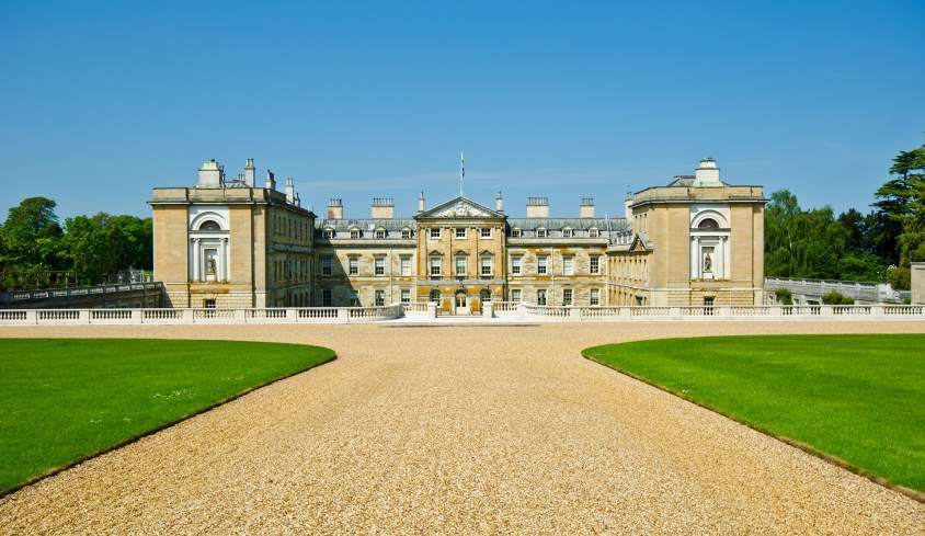 Woburn Abbey is the home of the Dukes of Bedford